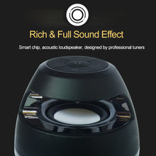 Led Flame Light Bluetooth Speaker