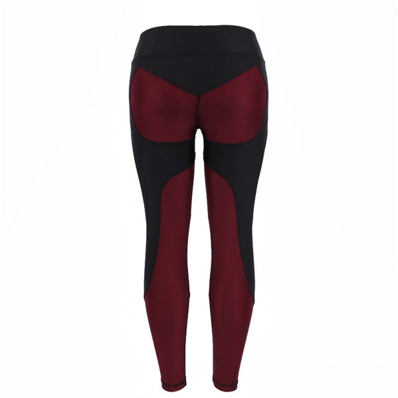 9a02e61247ed5 ... Women Leggings Fitness Adventure Time Patchwork Thick Legging High  Elastic Workout Leggings Sporting Pants Y8 ...