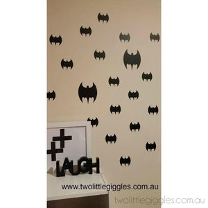 Batman Wall Sticker - Two Little Giggles