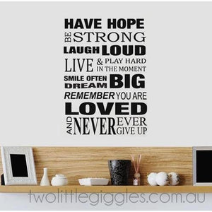 Have Hope - Two Little Giggles
