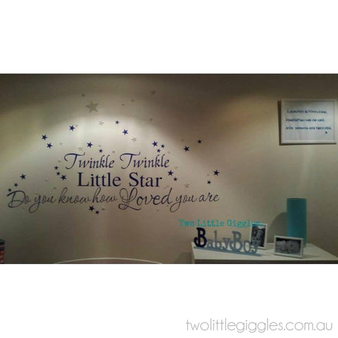 Twinkle Blue - Two Little Giggles