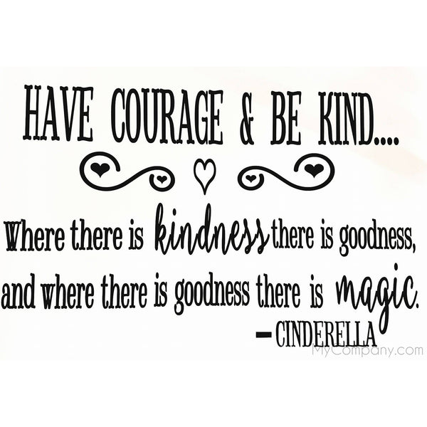 Courage & Kindness - Two Little Giggles