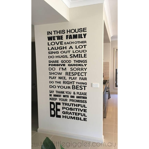 House Rules - Two Little Giggles