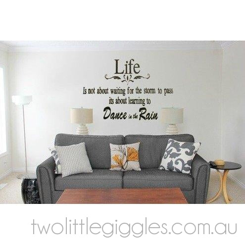 Life - Dance in the Rain - Two Little Giggles