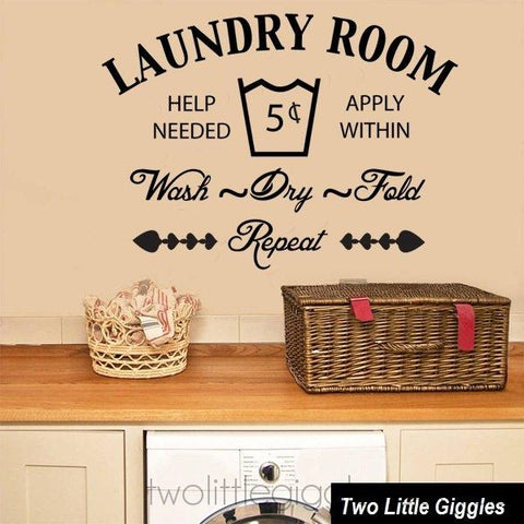 Laundry Room - Two Little Giggles