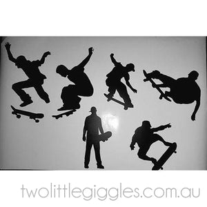 Skater Boy Decal - Two Little Giggles