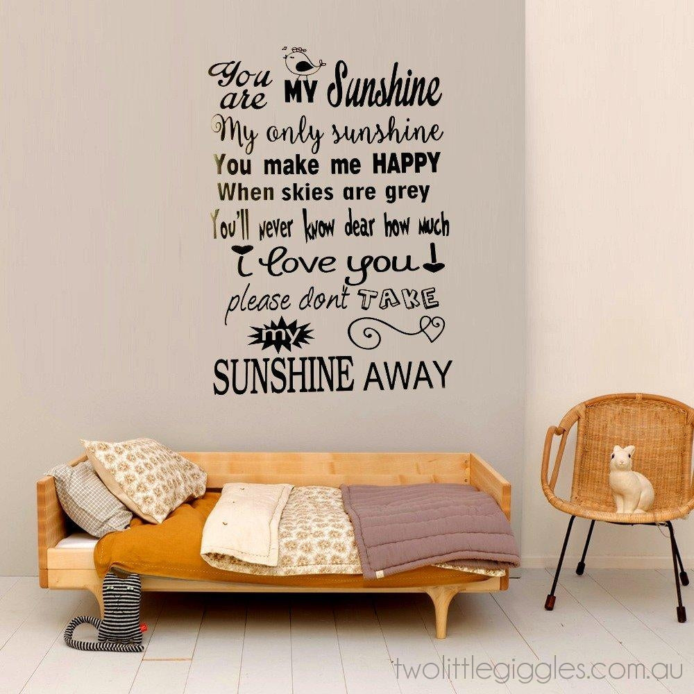 You Are My Sunshine 1 ...