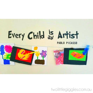 Every Child is an Artist - Two Little Giggles