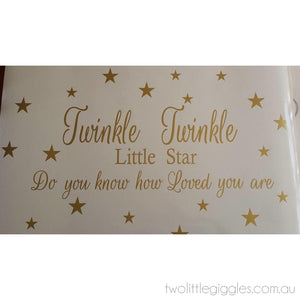Twinkle Gold - Two Little Giggles