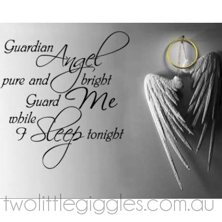 Guardian Angel - Two Little Giggles