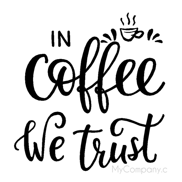 In Coffee we trust - Two Little Giggles