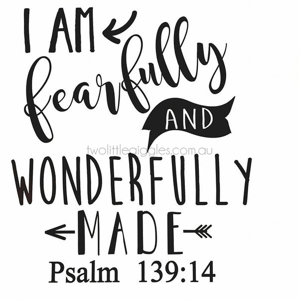 Fearfully and Wonderfully Made - Two Little Giggles