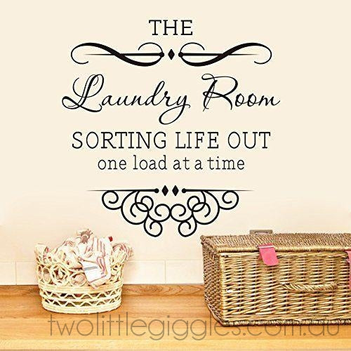 The Laundry Room - Two Little Giggles