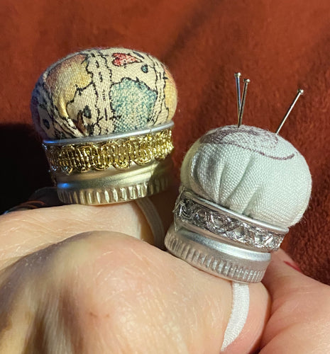"Finger ""Pin Cushion"" Ring"