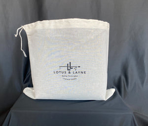 Large Lotus Tote- Wheat