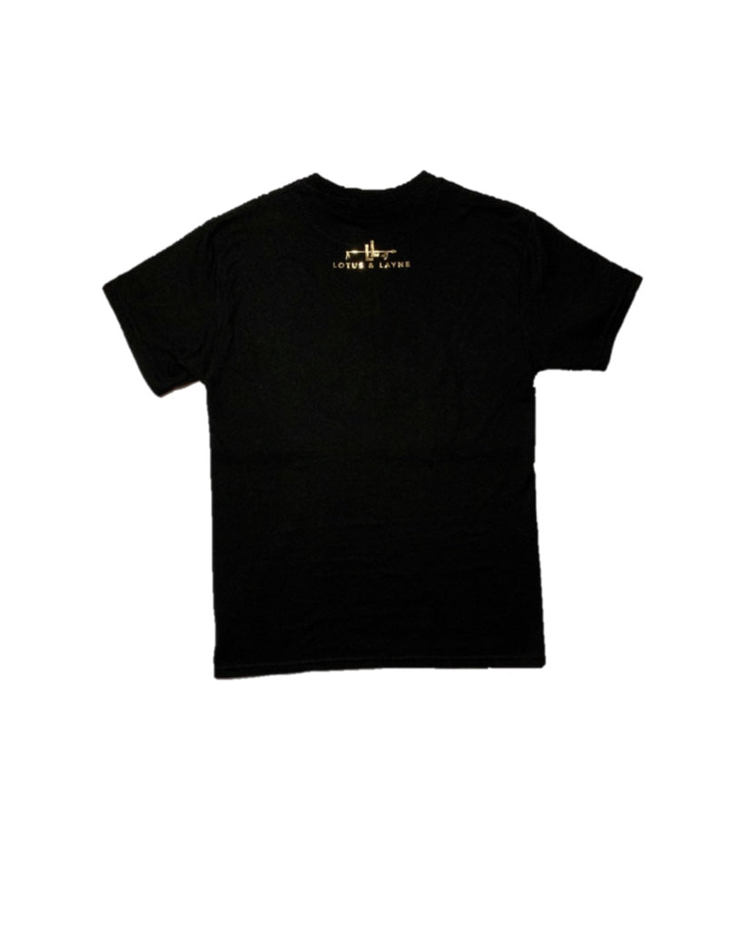 Black/Gold Black Lives Matter T-Shirt