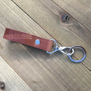 Key keeper ~ Natural Shell Cordovan