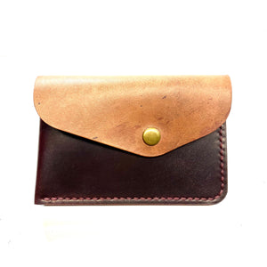 Buffalo Wallet ~ Burgundy Shell Cordovan