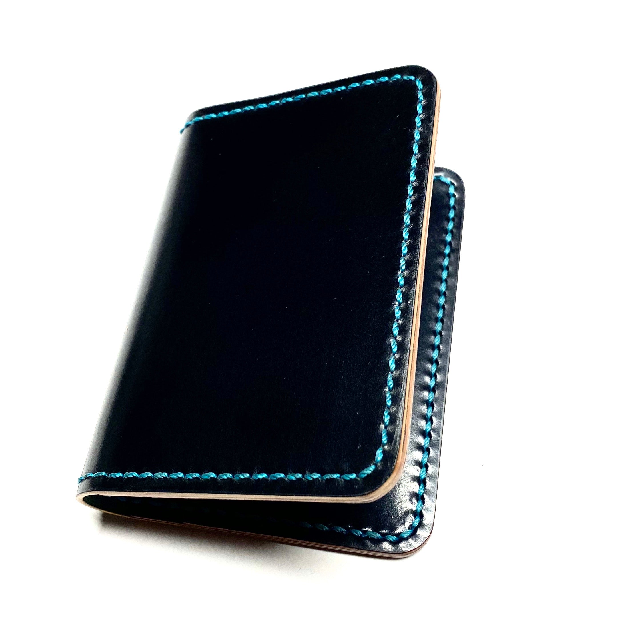 Bifold Wallet ~ Black Shell Cordovan