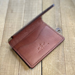 Bifold Wallet ~ Seattle Brown