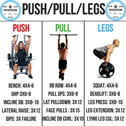 The Benefits Of The Push/Pull/Legs Split