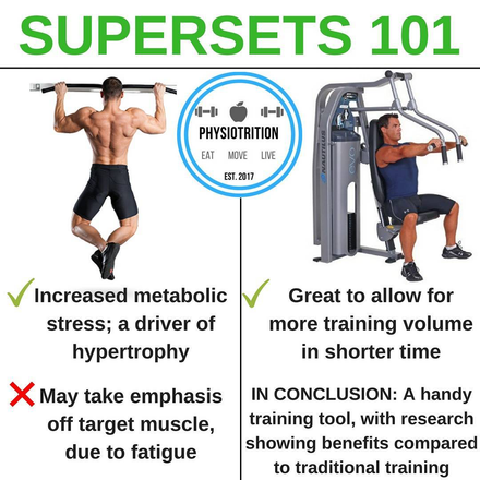 Are Supersets Worth Doing?
