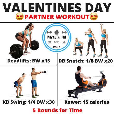 The Best Valentines Day Partner Workout