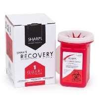 Mail Back Sharps Container Red
