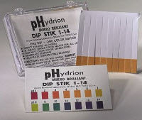 Dip Stick PH Phydrion ColeParm