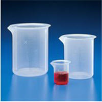 Beaker 100ml PP Molded Grad 12/Case