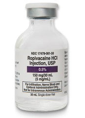 Ropivacaine HCL Inj 30mL PF