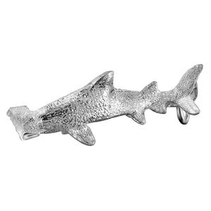 Hammerhead Shark charm sterling silver or gold pendant