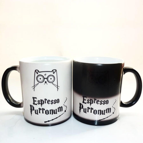 Color Changing Cup- Espresso Purronum!