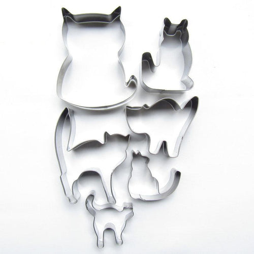 Cat-Shaped Baking Molds