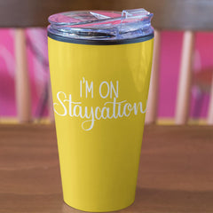 staycation wine tumbler cut file