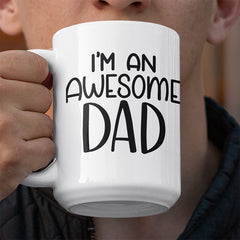 I'm an awesome dad svg