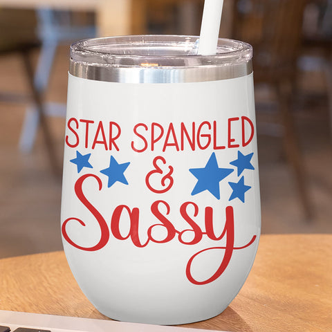July 4th tumbler svg