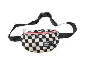 Vintage Checkerboard Waist Bag