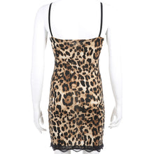 Lucy Leopard Night Dress Nightgown