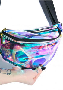 'Holographic' Transparent Fanny