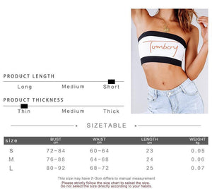 'Tomboy London' Bandeau