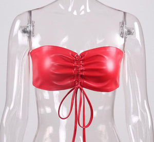 'Red Light Special' Strapless Tube Top
