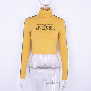 'Director's Cut' Cropped Turtleneck
