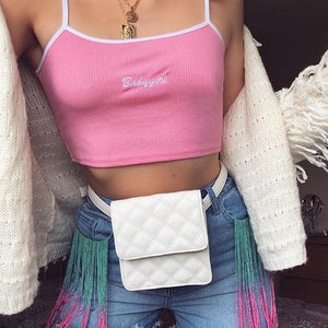 Babygirl Cropped Top