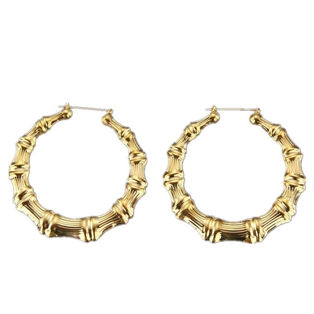 Retro Baddie Bamboo Earrings