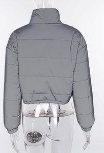 Premium Reflective Crop Coat