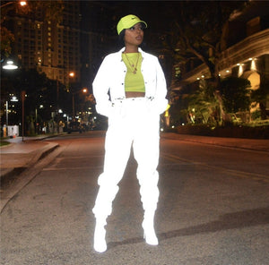 Night Vision Reflective Tracksuit