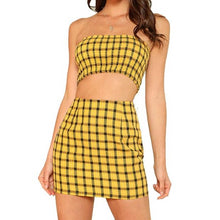 Clueless Plaid Set