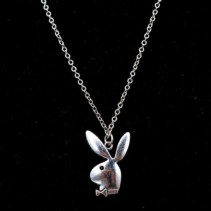 Classic Playboy Pendant Necklace - FREE (See Details)