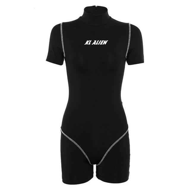 KL Alien Silhouette Playsuit